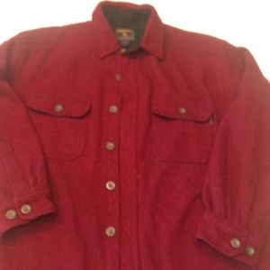 Men's woolrich large shirt good condition